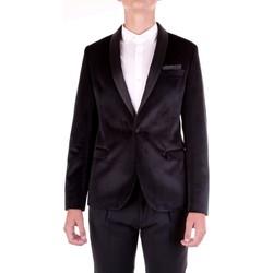 Textil Muži Saka / Blejzry Manuel Ritz 2930GR2139-203628 Černá
