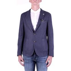 Textil Muži Saka / Blejzry Manuel Ritz 2932G2728TW-203507 Modrá
