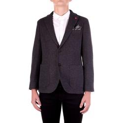 Textil Muži Saka / Blejzry Manuel Ritz 2932G2038M-203691 Černá