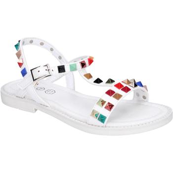Boty Dívčí Sandály Joli BK530 Bílý