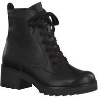 Boty Ženy Polokozačky Marco Tozzi Kotníkové boty na podpatku Bla Black