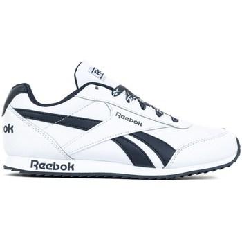 Boty Děti Nízké tenisky Reebok Sport Royal Cljog 2 Bílé,Tmavomodré