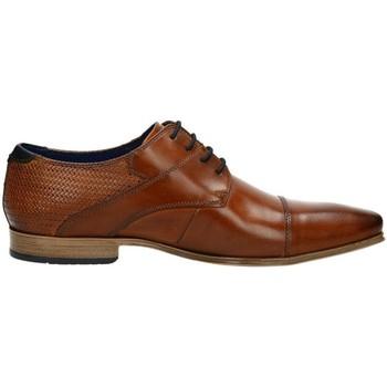 Boty Muži Šněrovací společenská obuv Bugatti Morino Brown