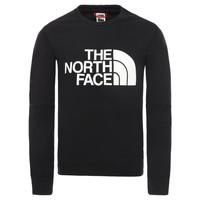 Textil Chlapecké Mikiny The North Face DREW PEAK LIGHT CREW Černá