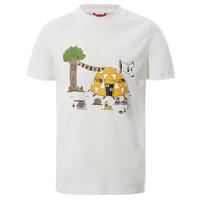 Textil Chlapecké Trička s krátkým rukávem The North Face GRAPHIC TEE Bílá