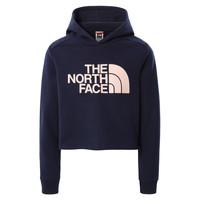 Textil Dívčí Mikiny The North Face DREW PEAK CROPPED HOODIE Tmavě modrá