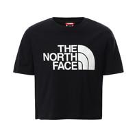 Textil Dívčí Trička s krátkým rukávem The North Face EASY CROPPED TEE Černá