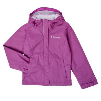Textil Dívčí Bundy Columbia ARCADIA JACKET Fialová