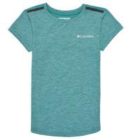 Textil Dívčí Trička s krátkým rukávem Columbia TECH TREK Zelená