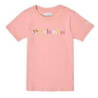 Textil Dívčí Trička s krátkým rukávem Columbia SWEET PINES GRAPHIC Růžová