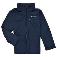 Textil Chlapecké Parky Columbia VEDDER PARK JACKET Tmavě modrá