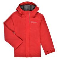 Textil Chlapecké Bundy Columbia WATERTIGHT JACKET Červená