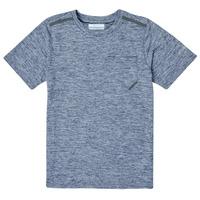 Textil Chlapecké Trička s krátkým rukávem Columbia TECH TREK Tmavě modrá