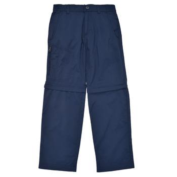 Textil Chlapecké Kapsáčové kalhoty Columbia SILVER RIDGE IV CONVERTIBLE PANT Tmavě modrá