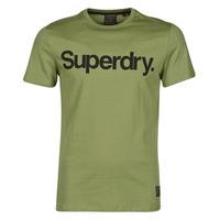 Textil Muži Trička s krátkým rukávem Superdry MILITARY GRAPHIC TEE 185 Khaki