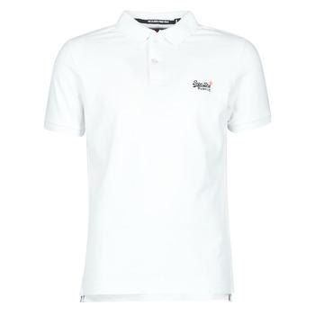 Textil Muži Trička s krátkým rukávem Superdry CLASSIC PIQUE S/S POLO Bílá