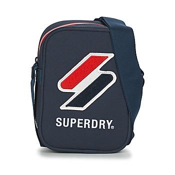 Taška Malé kabelky Superdry SPORTSTYLE SIDE BAG Tmavě modrá