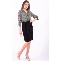 Textil Ženy Krátké šaty Sandro Ferrone TRIPOLI Bezbarvý
