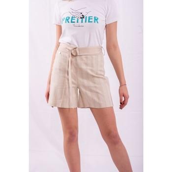 Textil Ženy Kraťasy / Bermudy Fracomina FR20SM566 Bezbarvý