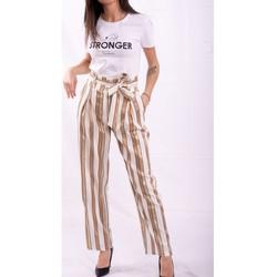 Textil Ženy Turecké kalhoty / Harémky Fracomina FR20SP665 Bezbarvý