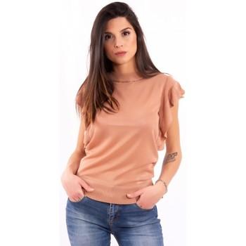 Textil Ženy Trička s krátkým rukávem Fracomina FR20SM806 Bezbarvý