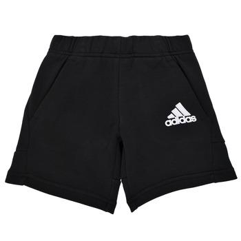 Textil Chlapecké Kraťasy / Bermudy adidas Performance B BOS SHORT Černá