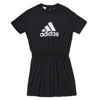 Textil Dívčí Krátké šaty adidas Performance G DANCE DRESS Černá
