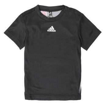 Textil Chlapecké Trička s krátkým rukávem adidas Performance B A.R. TEE Černá