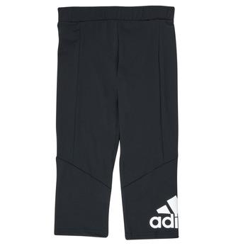 Textil Dívčí Legíny adidas Performance G BL 34 TIG Černá