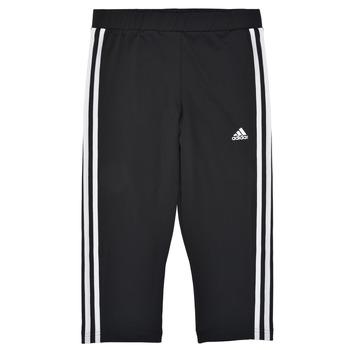 Textil Dívčí Legíny adidas Performance G 3S 34 TIG Černá
