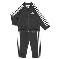 Textil Děti Set adidas Performance 3S TS TRIC Černá