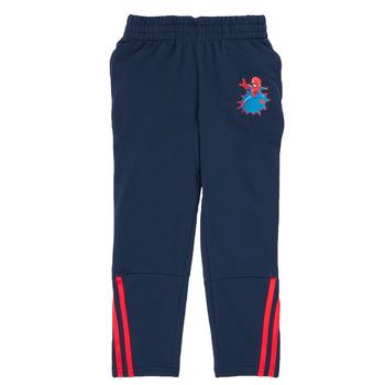 Textil Chlapecké Teplákové kalhoty adidas Performance LB DY SHA PANT Tmavě modrá