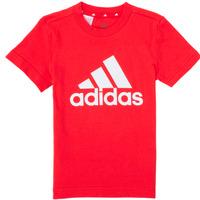 Textil Chlapecké Trička s krátkým rukávem adidas Performance B BL T Červená