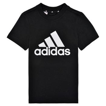 Textil Chlapecké Trička s krátkým rukávem adidas Performance B BL T Černá