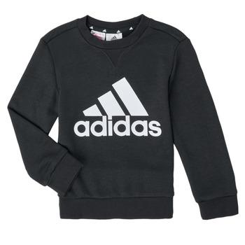 Textil Chlapecké Mikiny adidas Performance B BL SWT Černá