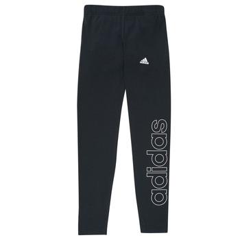 Textil Dívčí Legíny adidas Performance G LIN LEG Černá