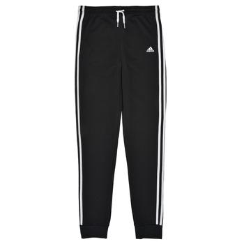 Textil Dívčí Teplákové kalhoty adidas Performance G 3S FT C PT Černá