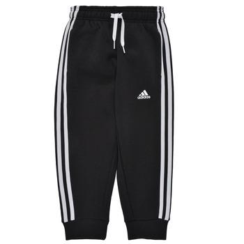 Textil Chlapecké Teplákové kalhoty adidas Performance B 3S FL C PT Černá