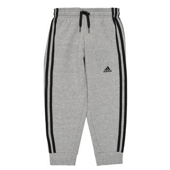 Textil Chlapecké Teplákové kalhoty adidas Performance B 3S FL C PT Šedá