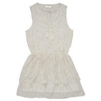 Textil Dívčí Krátké šaty Deeluxe JESTA Bílá