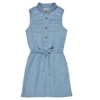 Textil Dívčí Krátké šaty Deeluxe LALI Modrá