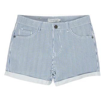 Textil Dívčí Kraťasy / Bermudy Deeluxe BILLIE Bílá / Modrá