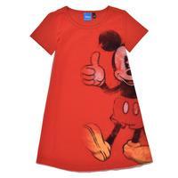 Textil Dívčí Krátké šaty Desigual 21SGVK41-3036 Červená