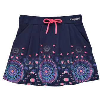 Textil Dívčí Sukně Desigual 21SGFK03-5000 Modrá