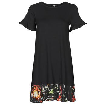 Textil Ženy Krátké šaty Desigual KALI Černá