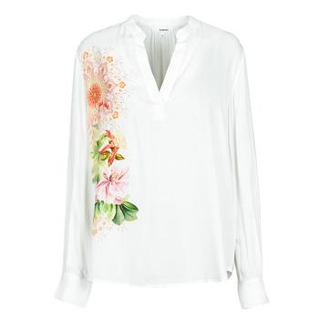 Textil Ženy Košile / Halenky Desigual TIGRIS Bílá