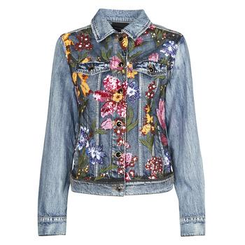Textil Ženy Riflové bundy Desigual BALT Modrá