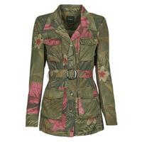 Textil Ženy Saka / Blejzry Desigual CAMOASIS Khaki
