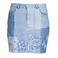 Textil Ženy Sukně Desigual BE BLUE Modrá