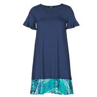 Textil Ženy Krátké šaty Desigual KALI Tmavě modrá